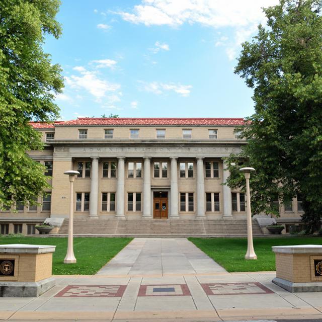CSU Administration building