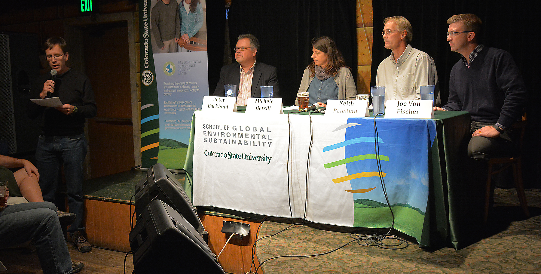 Managing the Planet panel