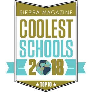 Sierra Magazine Cool School logo