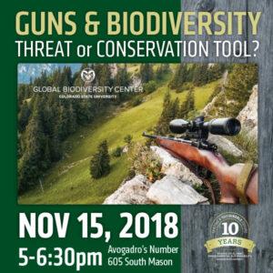 Guns and Biodiversity image