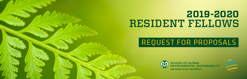 Resident Fellow Request for Proposals banner image