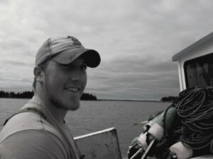 Picture of Cody Bruno on a boat