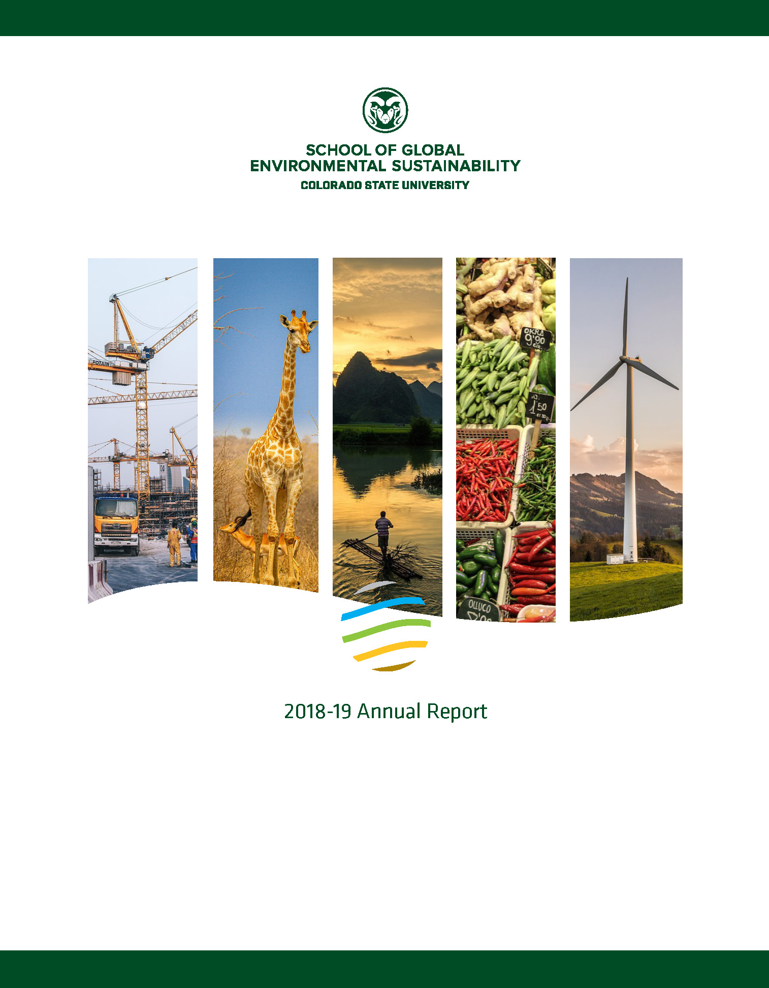 Cover art for the 2018-2019 SoGES Annual Report