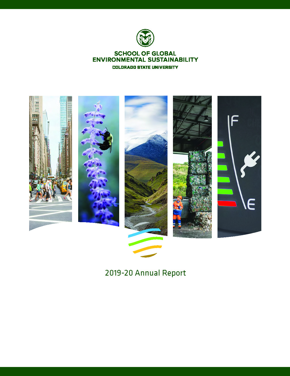 Cover art of the 2019-2020 SoGES Annual Report