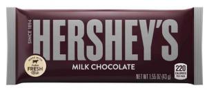 Hershey's chocolat bar