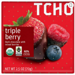 Tcho Triple Berry chocloate bar