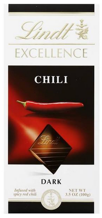 Lindt Chili chocolate bar