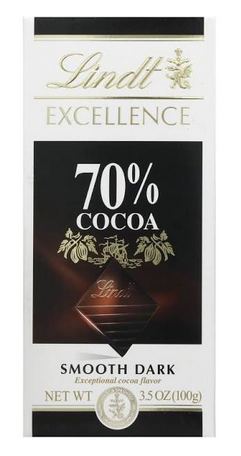 Lindt Smooth Dark chocolate bar