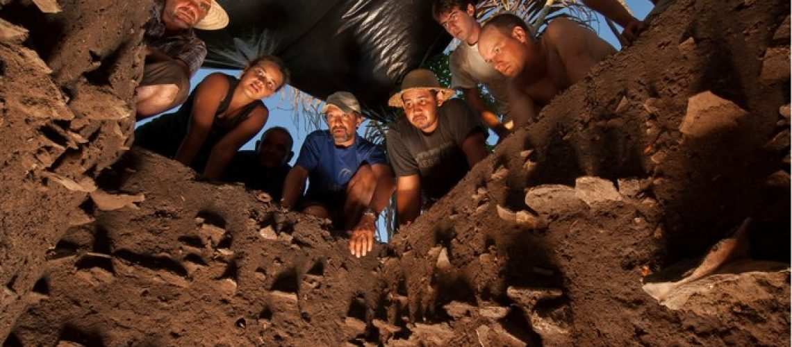 Photo by Jim Richardson (jimrichardsonphotography.com) of archeologists in Brazil studying terra preta (black earth) soil and how it was created by the indians living there.